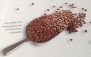 Um den Cholesterinspiegel und den Blutfettgehalt zu regulieren, reichen 100g Hülsenfrüchte am Tag aus.