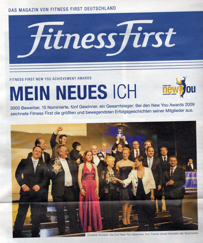 Mitgliederzeitschrift Fitness First So habe ich Sabrina fit gemacht