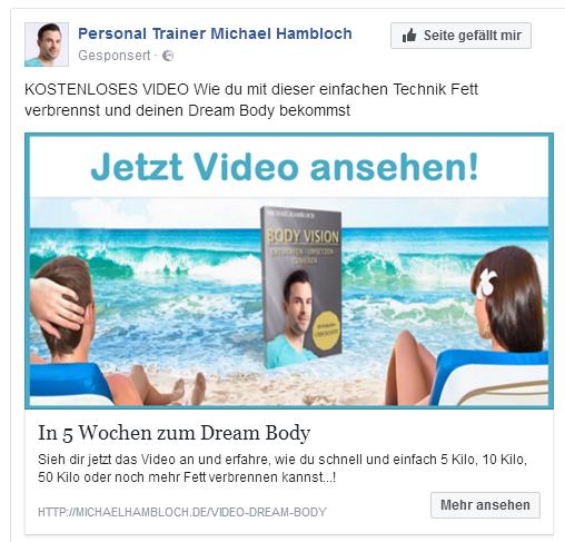 salesvideo fb anzeige