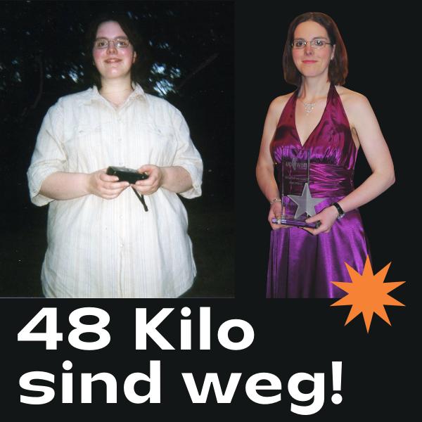 48 Kilo abnehmen mit Personal Trainer | In 7 Schritten zur Wunschfigur | Gratis E-Book sichern!