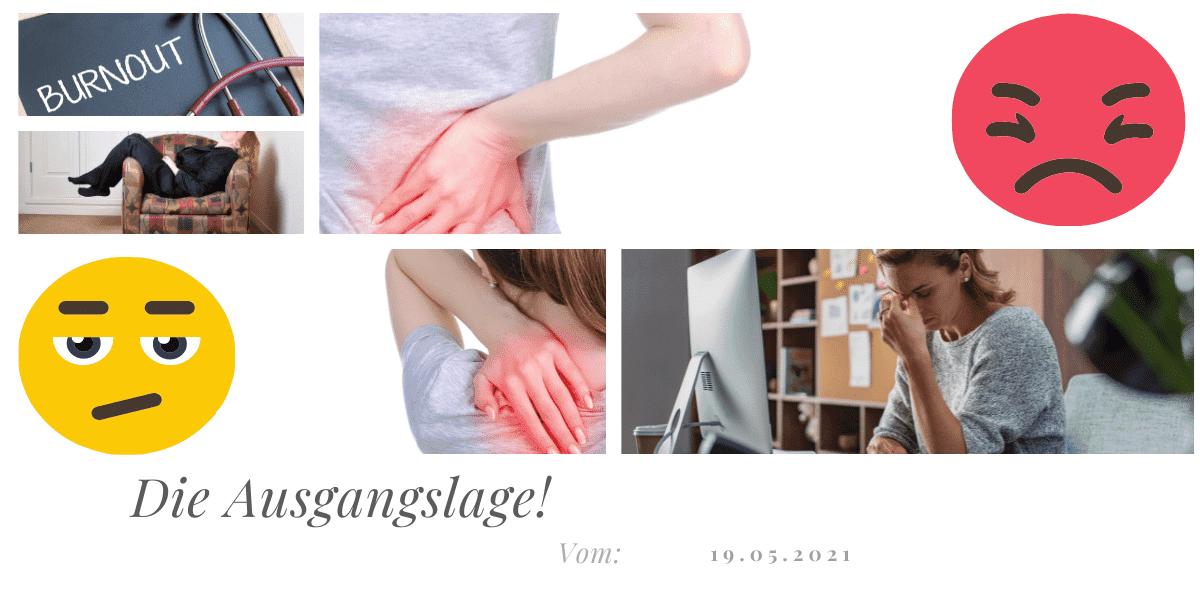Rückenfit - Fallstudie - Ausgangslage